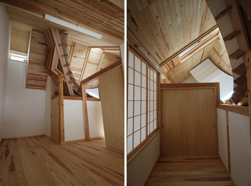 Japan Sundial House Interior