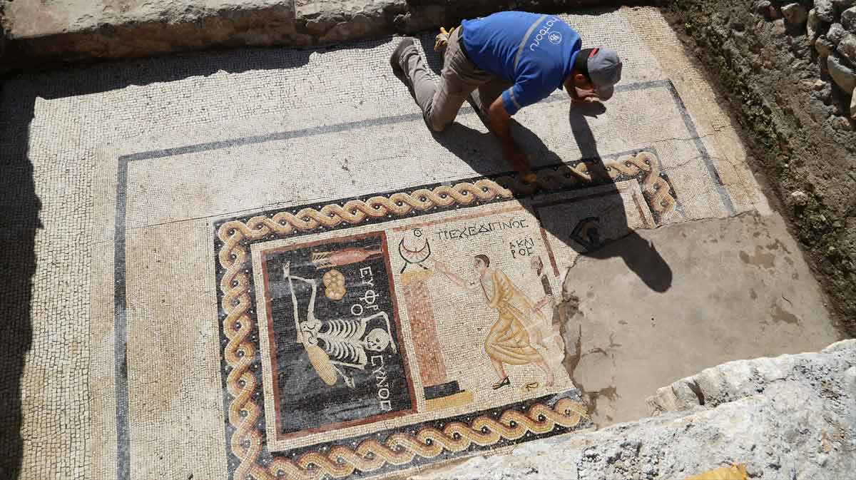 Mosaic at Antioch