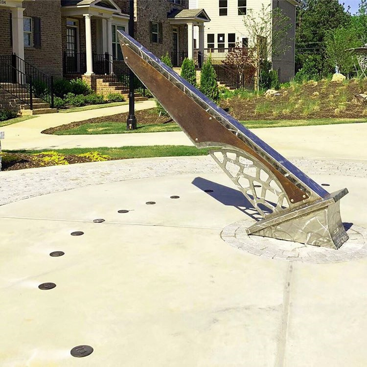 nass news 2019 may kennesaw sundial